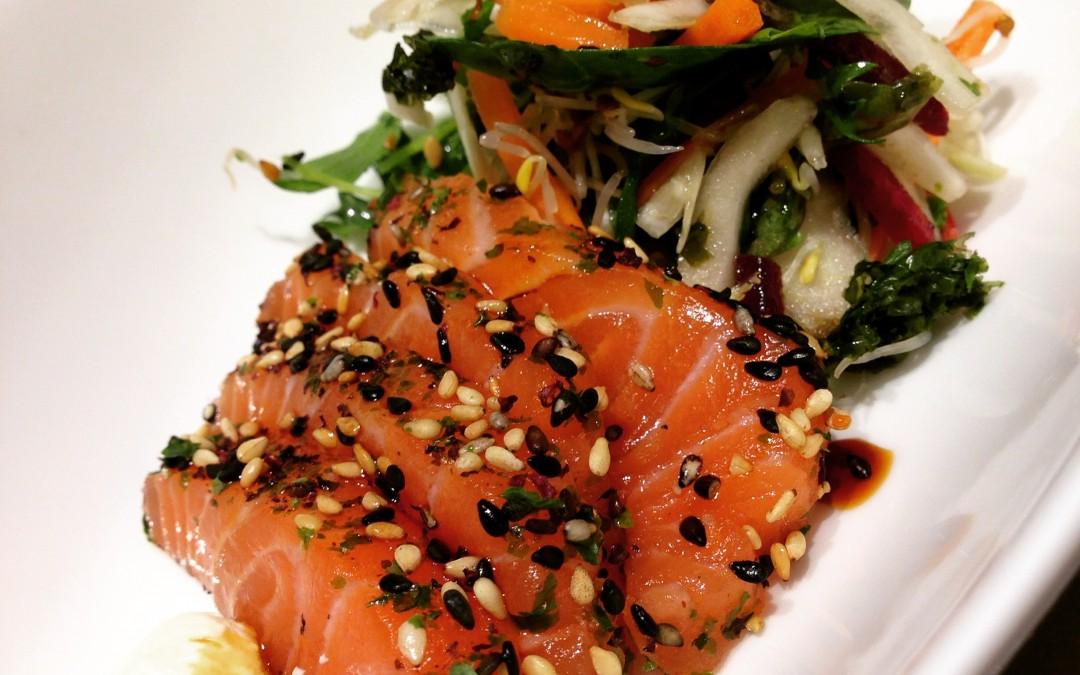 Det är enkelt att göra sashimi!
